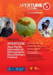 APERTURE Festival Poster (A4)