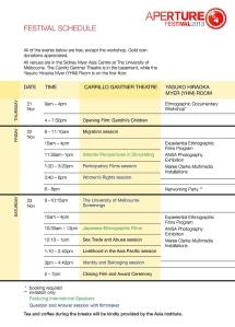 APERTURE Festival Schedule (pdf)